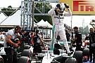 Hamilton klasse apart tijdens kwalificatie Italiaanse Grand Prix