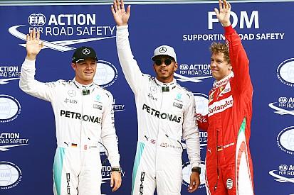 Hamilton obtuvo una contundente pole en Monza