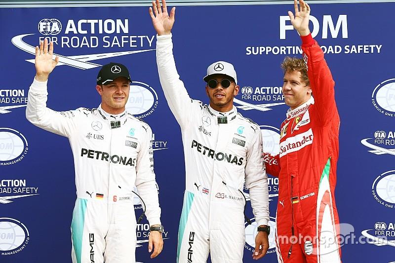 F1イタリアGP予選:ハミルトン、ロズベルグに0.5秒の大差でポールポジション獲得!