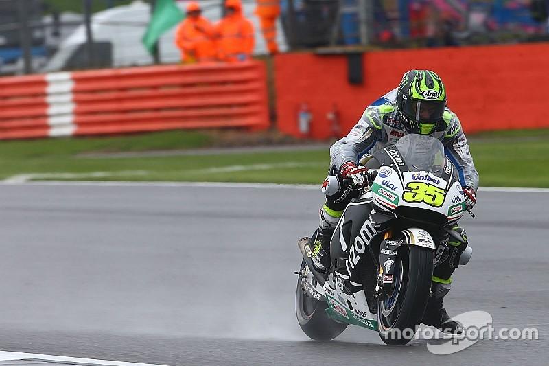MotoGPイギリスGP予選:レインマスター、クラッチローが母国でポールポジション
