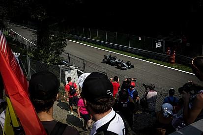 La parrilla del Gran Premio de Italia en imágenes