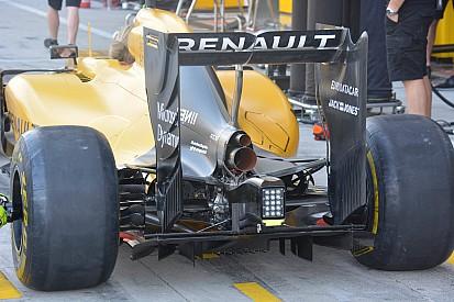 技术短文:雷诺RE16赛车尾翼和冷却系统调整