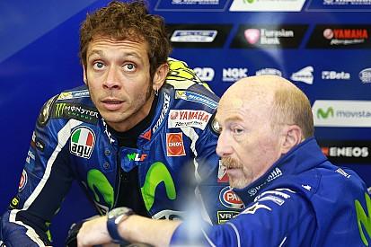 """Rossi """"un peu inquiet"""" face au rythme des favoris"""
