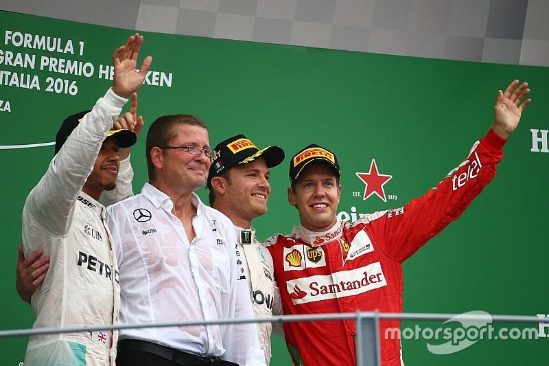 """Rosberg blij met eerste Italiaanse overwinning: """"Monza speciale plek"""""""
