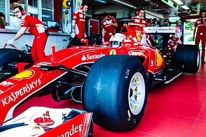 Ferrari: Raikkonen a Barcellona nei test con le gomme larghe Pirelli