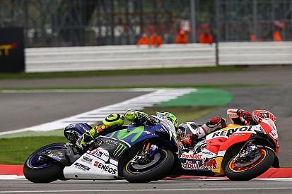 Rossi: Pertarungan dengan Marquez tidak seperti Sepang 2015