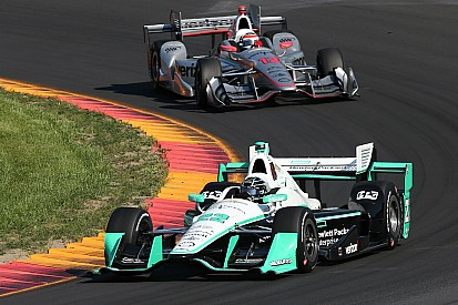 Championnat - Pagenaud et Power face à face