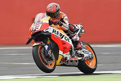 Marquez mengaku tampil sangat agresif di Silverstone
