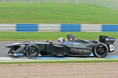 Vergne snelst op eerste dag van tweede Formule E-test