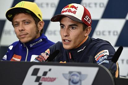 Márquez - Moins de tension avec Rossi en conférence