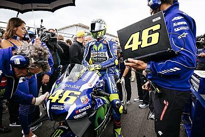 Para Rossi, atuação da Yamaha na Inglaterra foi pior do ano