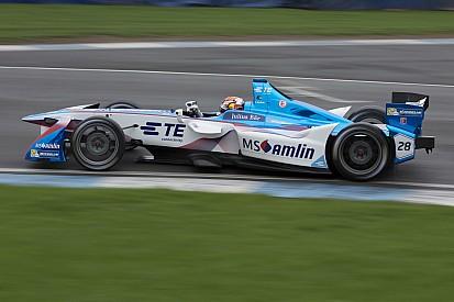 Bildergalerie: Formel-E-Tests in Donington