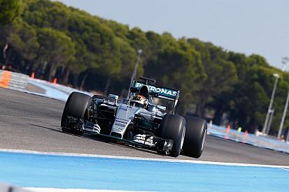 Mercedes teste les pneus Pirelli 2017 au Paul Ricard
