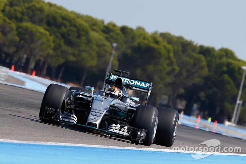 Mercedes тестує гуму Pirelli 2017 року
