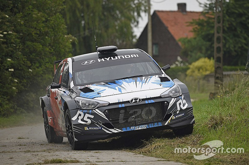 Sarrazin attendu en Corse sur la Hyundai R5