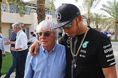 """Ecclestone: """"Por supuesto que Hamilton ganará el mundial"""""""