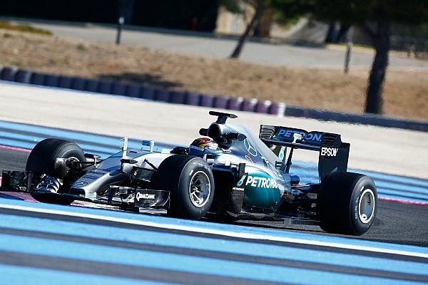 Wehrlein completa i test Mercedes con le gomme 2017 al Ricard