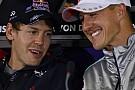 A fiatal Vettel Michael Schumacher oldalán!