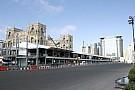 Madártávlatból az új F1-es pálya Bakuban