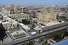 Életkép Bakuból: egyelőre üres a bokszutca