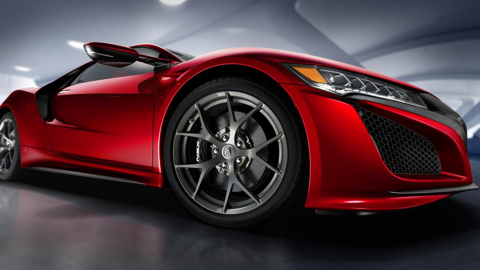 Buttonnak rendkívül jól áll az új Honda NSX: brutál kis gép