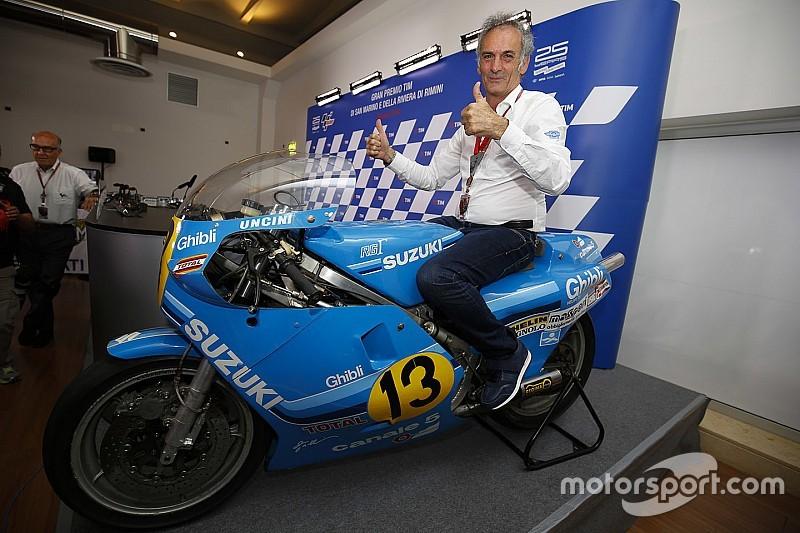 Oud-kampioen Franco Uncini opgenomen in MotoGP Hall of Fame