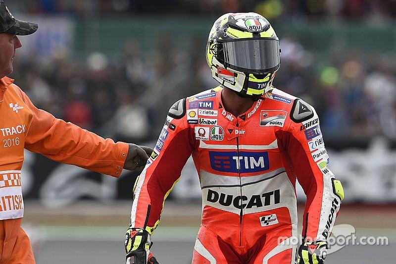 Iannone pasará revisión este sábado para intentar correr en Misano