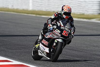 Moto2 Catalunya: Zarco pole position, Lowes terjatuh