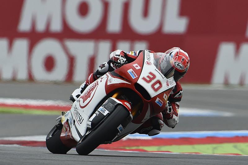 Moto2 Assen: Nakagami raih kemenangan perdana