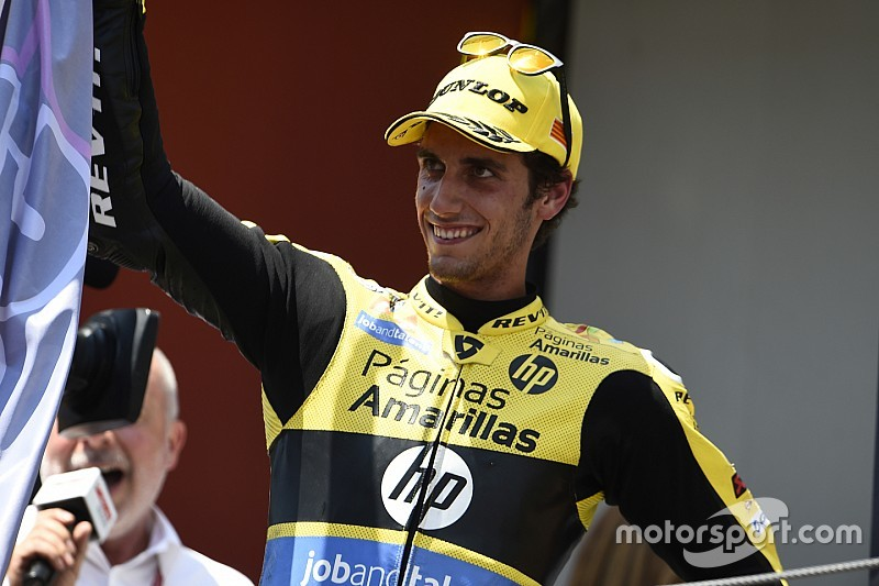 Alex Rins amankan kursi MotoGP bersama Suzuki