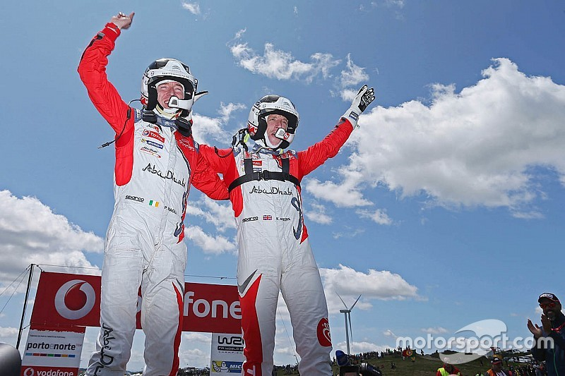 WRC Portugal: Meeke amankan kemenangan, Ogier menangi Power Stage