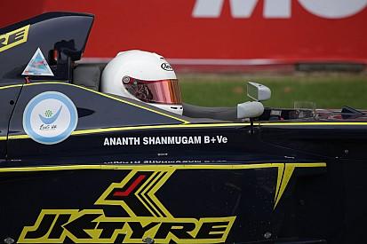 Coimbatore II Euro JK: Shanmugam wins Race 1