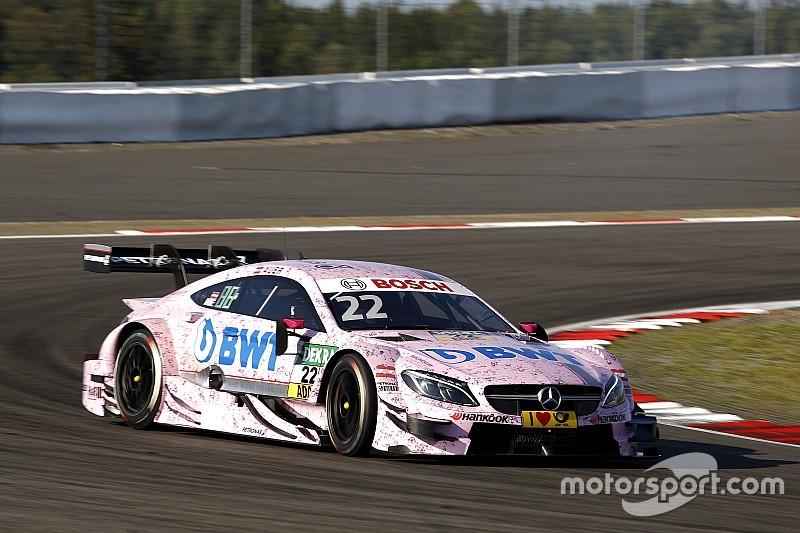 DTM на Нюрбургринзі: Ауер виграє поул для Mercedes
