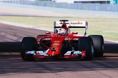 Pirelli publikasikan gambar dari tes ban lebar pertama oleh Ferrari