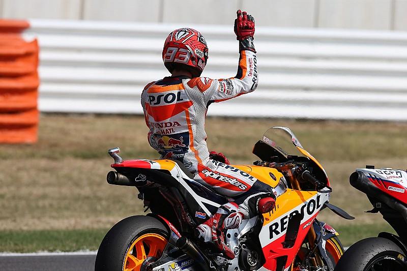"""Marquez positief verrast: """"Dichter bij Yamaha's dan gedacht"""""""