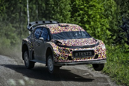 Pengembangan C3 World Rally Car 2017 semakin cepat di Finlandia