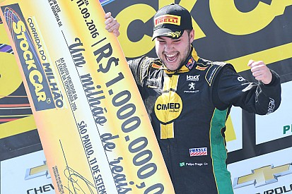 Brazilian V8 Stock Cars: Felipe Fraga is the new millionaire