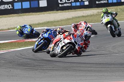 Ducati-rijders komen er niet aan te pas in GP San Marino