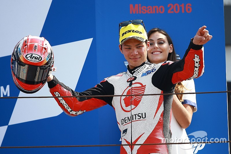 中上貴晶「今回はポジションをキープしたが、次は優勝を狙う」:Moto2サンマリノ決勝