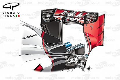 Formel-1-Technik: Weniger Abtrieb durch Heckflügel in Wellenform