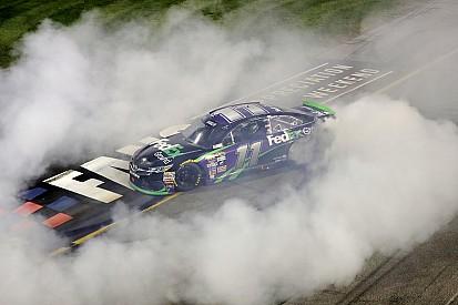 Denny Hamlin remporte une course mouvementée à Richmond