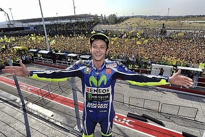 Photos - Une marée jaune en l'honneur de Valentino Rossi
