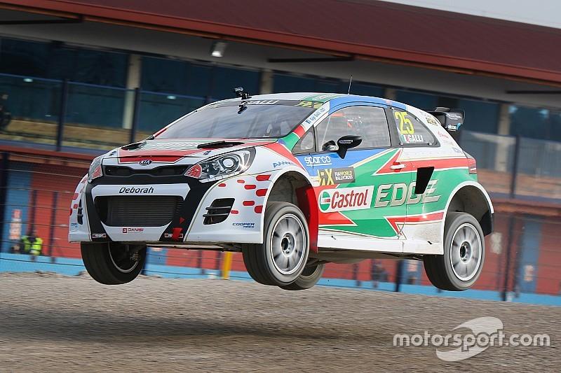 Gigi Galli potrebbe entrare presto nel Mondiale RallyCross con la sua Rio!