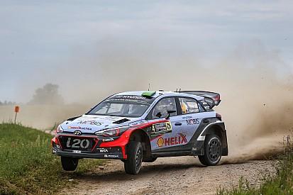 Hyundai Motorsport menuju podium di mana Paddon terus menyerang di Polandia