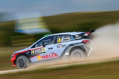 Hyundai Motorsport klaim podium kelima musim ini setelah pertarungan alot di Polandia