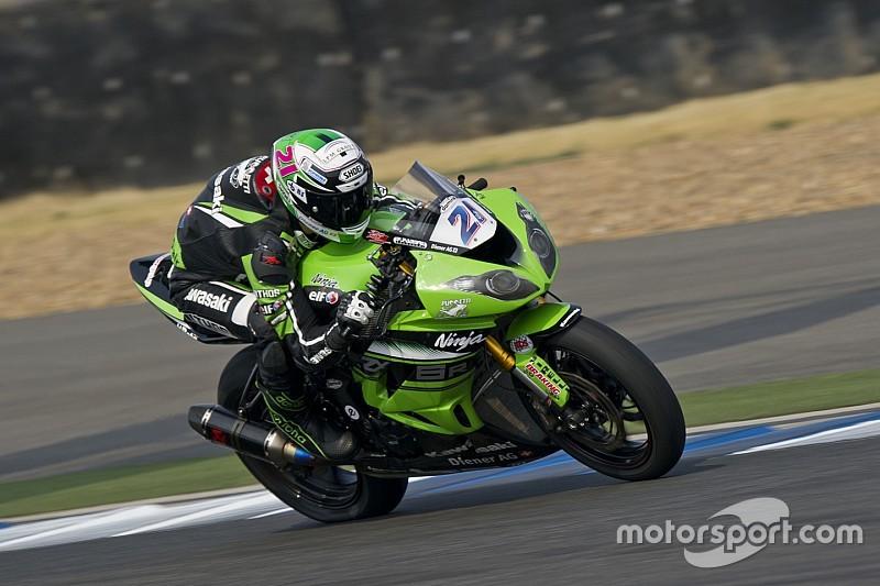 Randy Krummenacher steigt mit Kawasaki in die Superbike-WM auf