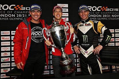 Kristensen y Solberg en la Carrera de Campeones