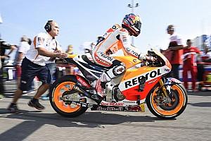 MotoGP Test Marquez e Pedrosa hanno provato il motore Honda 2017