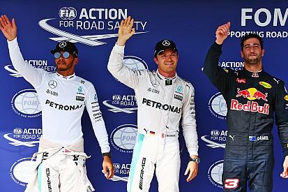 GP Hungaria: Rosberg raih pole di tengah sesi kualifikasi kacau