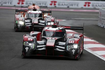 Audi à la poursuite de Porsche à Austin